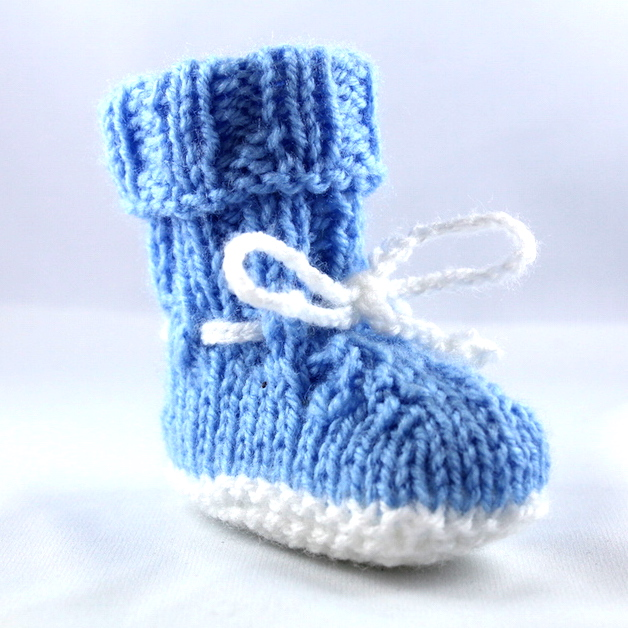 Blue Feed Babyschuh